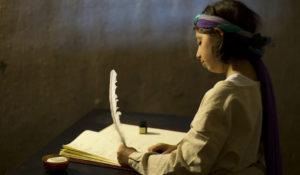 giovane scrittrice