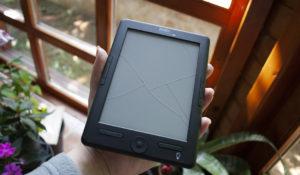 e-reader rotto