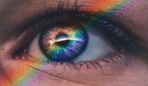 arcobaleno occhio