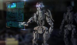 robot pannello