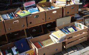 scatole di libri